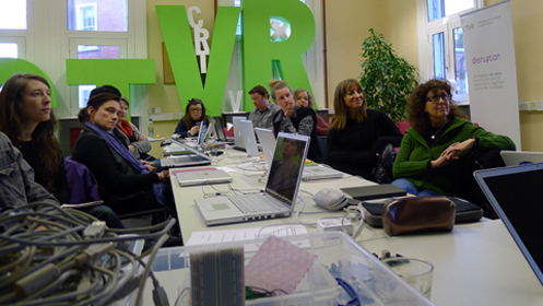 Interactive Media & Environment Master Class by Recyclism