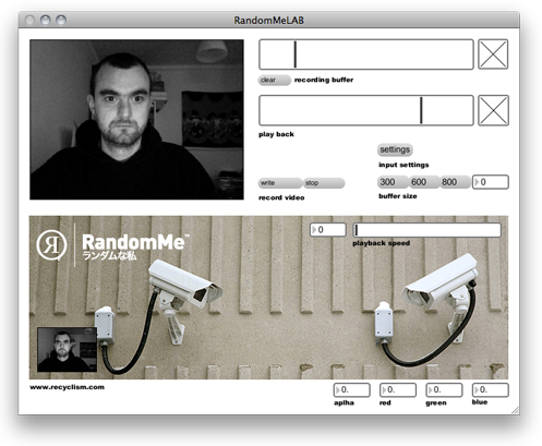 Random me CCTV randomizer Software
